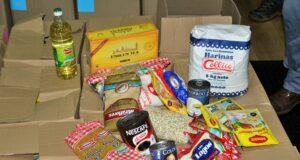 Pequeños comerciantes de Los Lagos entregaron 500 cajas de alimentos
